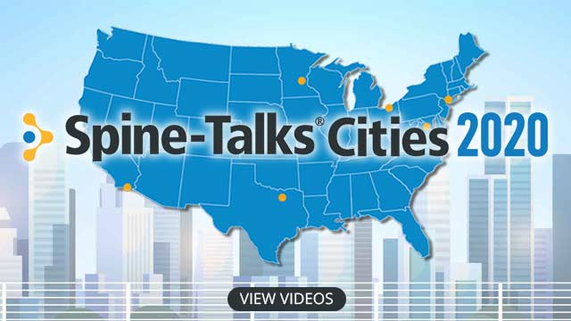 Image: Spine-Talks<sup>®</sup> Cities 2020