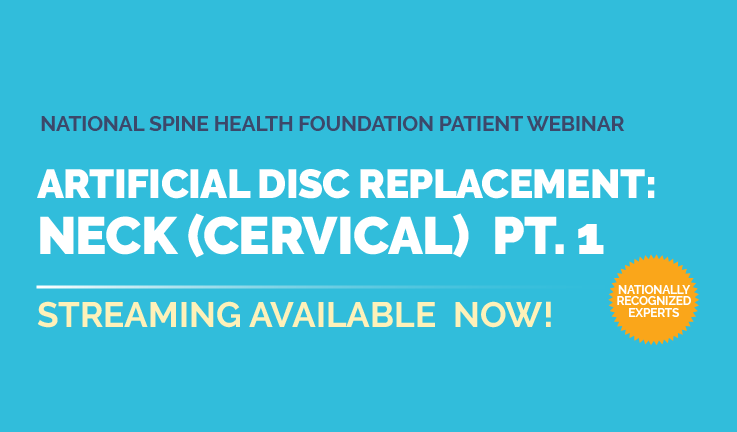 Image: Artificial Disc Replacement: Neck